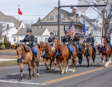 2nd Co Governors Horse Guard St. Pat's Danbury Parade 2019