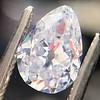 1.03ct Antqiue Pear Shape Diamond, GIA D VS1 0