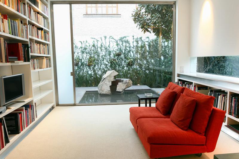 Gabriel García Marquez studio in Mexico city for interior design magazine.