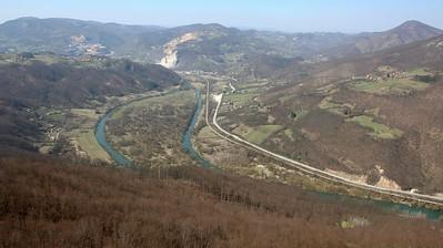Srbija - Debela Gora (Branojevac), Banjski potok, pecina Kadjenica, 31.3.2019.