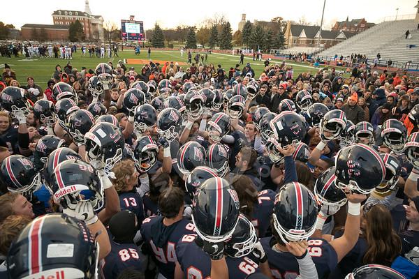 Wheaton College Football vs Elmhurst College, November 10, 2018
