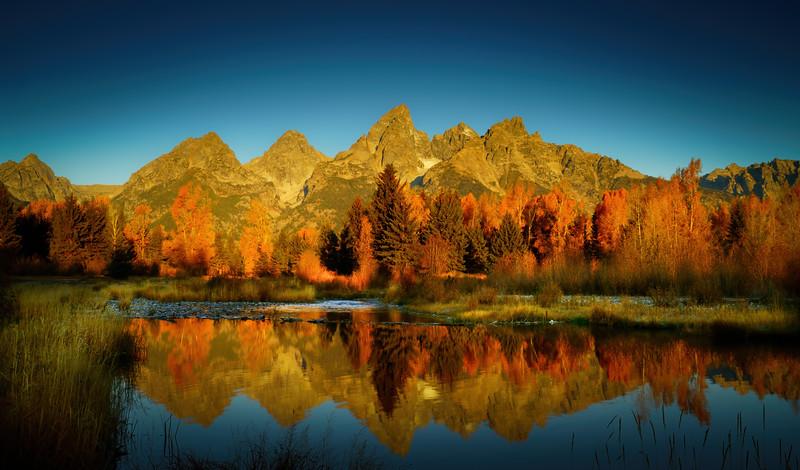 Tetons Fall Glory