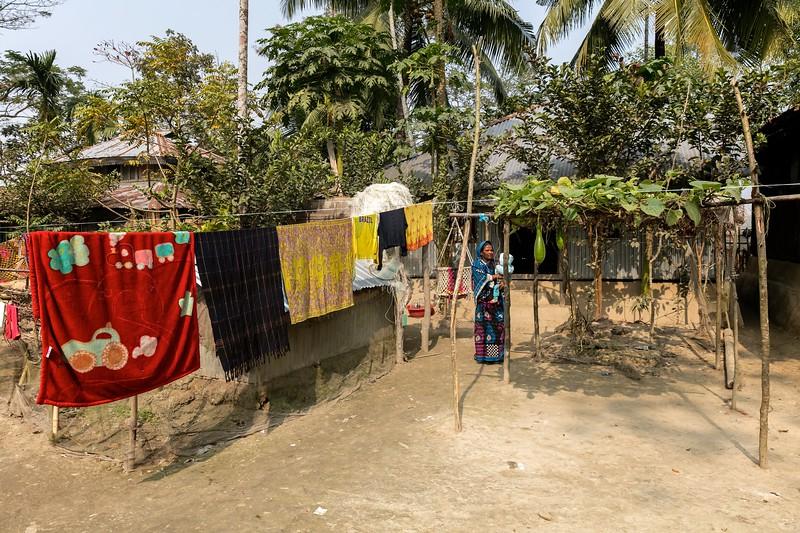 0028-0029House of Nirob's (4 months)parentsHoglabunia Village, Dakua Union, Golachipa upazilla, Patuakhali district. Bangladesh.Photo Credit: b.a.sujaN / Map / WRA