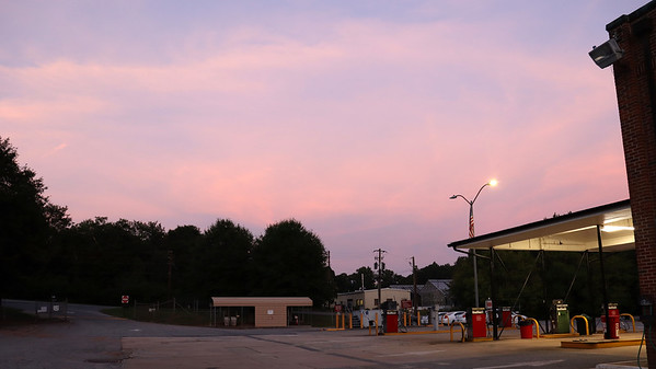 August 12:  Great colors in the sky tonight .  .  .