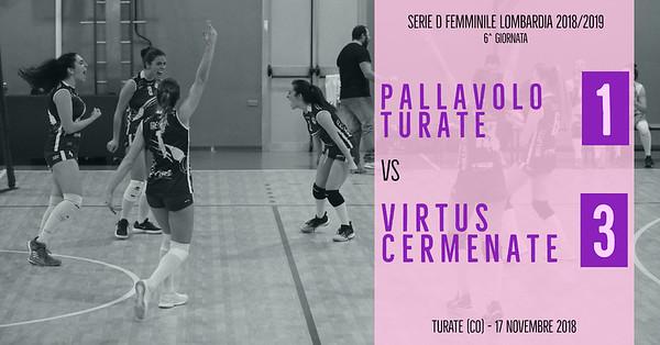 LOM-Df: 6^ Pallavolo Turate - Virtus Cermenate