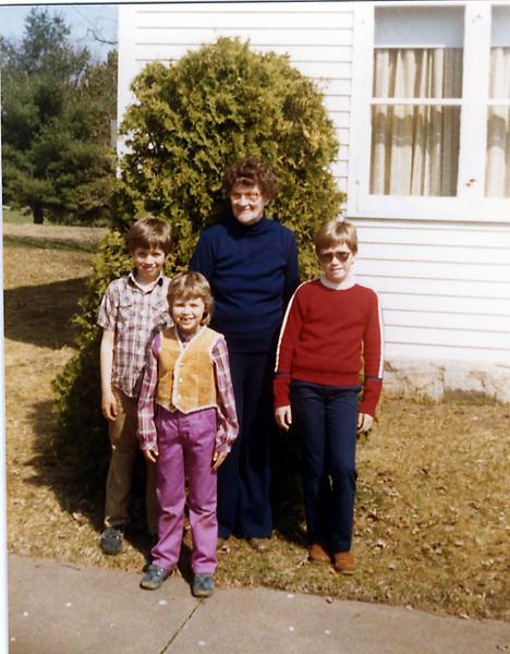 Visit to Grandma Herdrich's House
