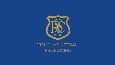 02.10 2021 Clive Netball Prizegiving