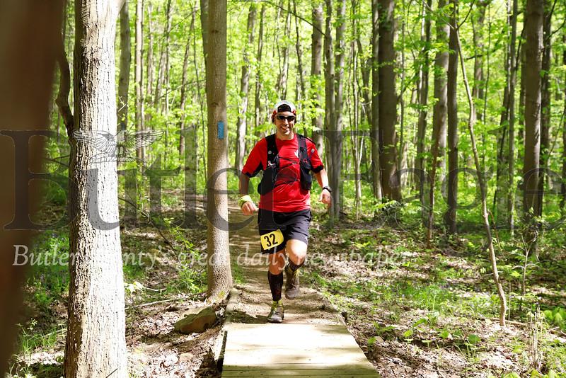 50-mile runner Morraine ultra (not winner) Seb Foltz/Butler Eagle