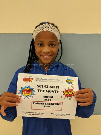 Scholar of the Month- September