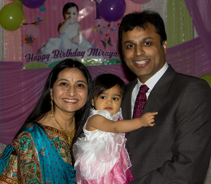 Miraya's 1-Year Birthday Party