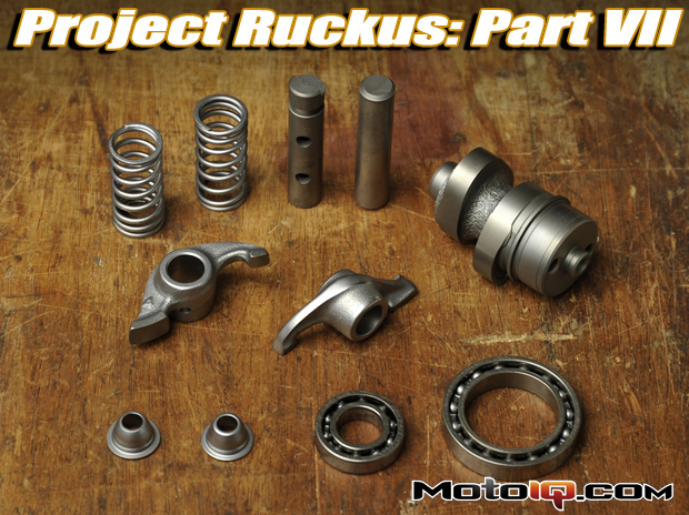 Project Honda Ruckus modified high performance big bore racing engine