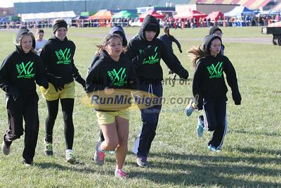 Start, D3 Girls - 2014 MHSAA LP XC Finals