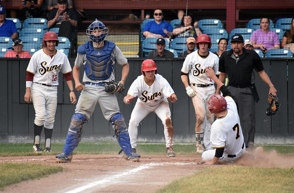 Pittsfield Suns vs. Bristol Blues - 070219