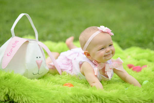 Coralie - Easter (7 months)