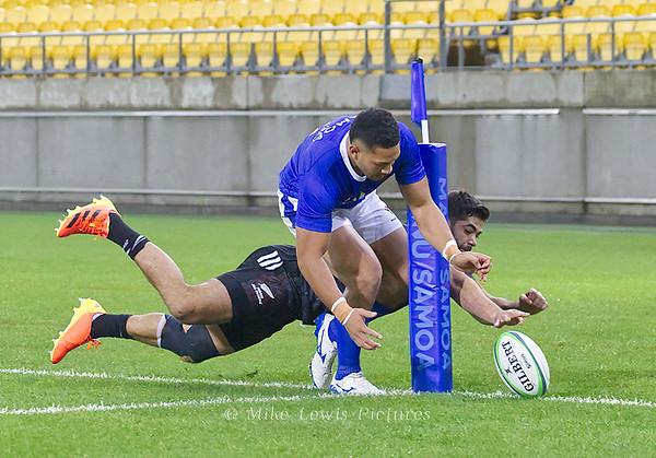 26 June: Māori All Blacks (35) v Manu Samoa (10)