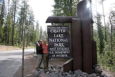 Crater Lake National Park May 2012