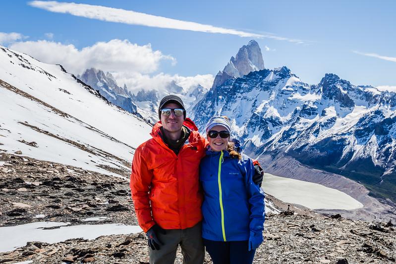 Hiking in Patagonia Pliegue Tumbado Agachonas Pass Divergent Travelers