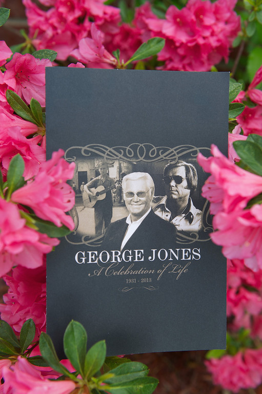 . NASHVILLE, TN - MAY 02:  Atmosphere at the funeral service for George Jones at The Grand Ole Opry on May 2, 2013 in Nashville, Tennessee.   (Photo by Jason Davis/Getty Images)