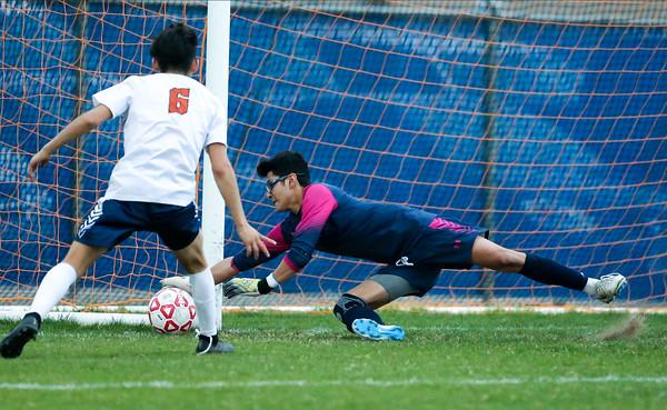 Varsity Boys Soccer vs Lee 030320