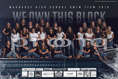 Waunakee Girls Swimming