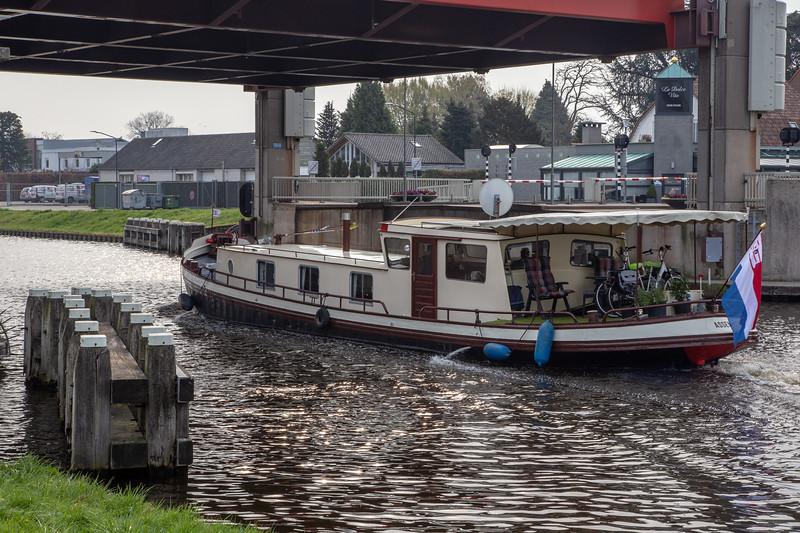 Dutch Canal Boat