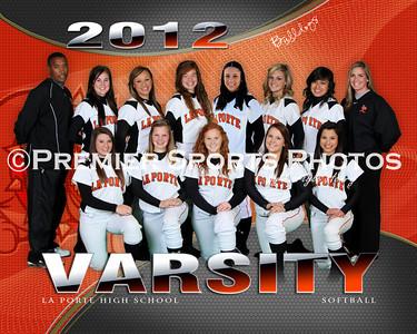 2012 La Porte High School Softball