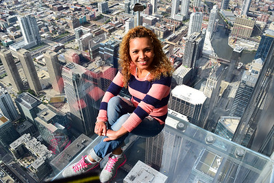 Skydeck Sears Chicago 2014