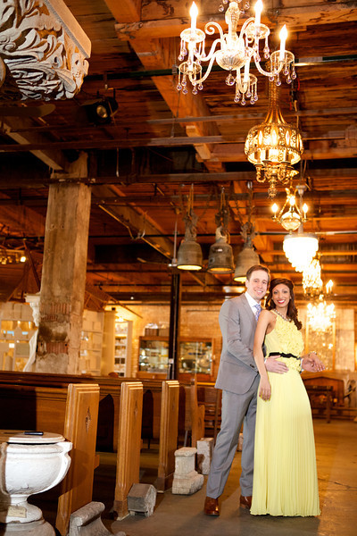 Le Cape Weddings - Neha and James Engagement Session at Salvage One Chicago - Indian Wedding  042.jpg
