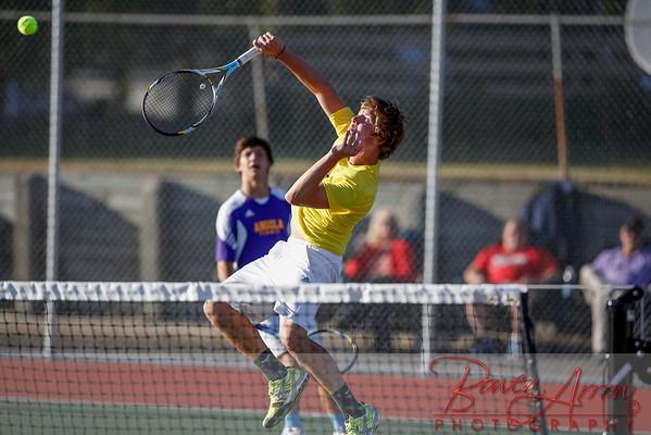 Tennis M vs Fairfield 9-16-2013