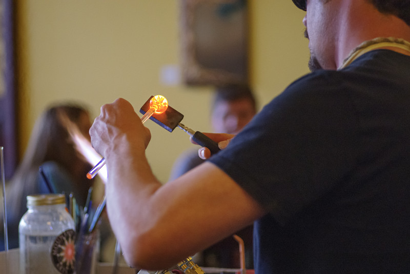 Working with Molten Glass