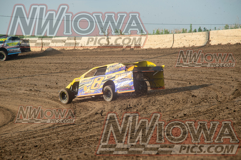 Midwest Madness Tour - Night 6 - Stuart Speedway - Ron Little