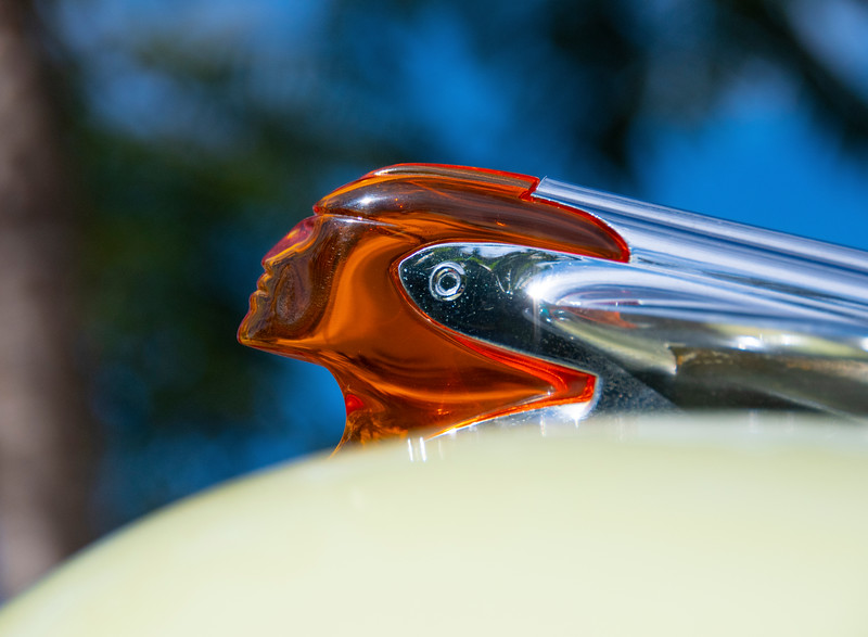 1950 Pontiac Chieftain Catalina Hood Ornament