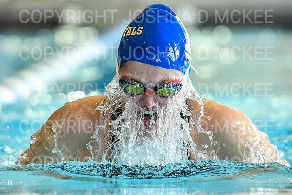 Hamilton College Swimming and Diving Invitational 12-1-18