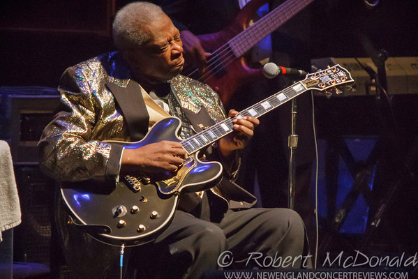 BB King At The Hanover Theatre in Worcester, MA