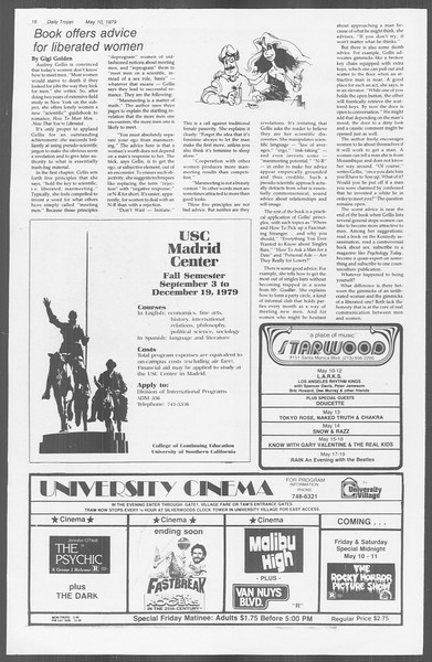 Daily Trojan, Vol. 76, No. 57, May 10, 1979