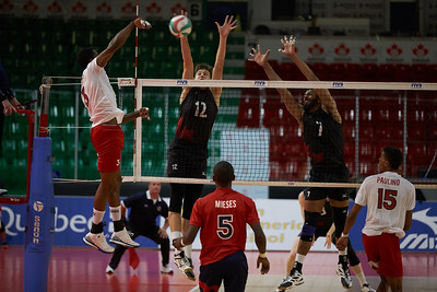 2017-07-25 to 30 PANAM Mens Volleyball - select images
