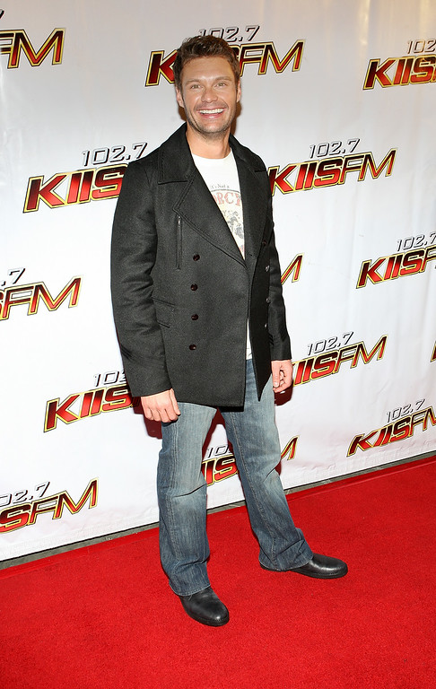 . In this Dec. 6, 2008 file photo, Ryan Seacrest attends the 102.7 KIIS-FM\'s Jingle Ball 08, in Anaheim, Calif. In June 2010, a Los Angeles judge sentenced Chidi Uzomah Jr. to two years in state prison after he showed up with a knife at E! Entertainment Television, where Seacrest works. Uzomah was on probation at the time for a previous incident in which he attacked Seacrest\'s bodyguards outside an event and was ordered to stay away from the radio and TV personality for 10 years. (AP Photo/Shea Walsh, file)