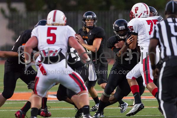 Oxy Football vs. Pacific University 9-8-12