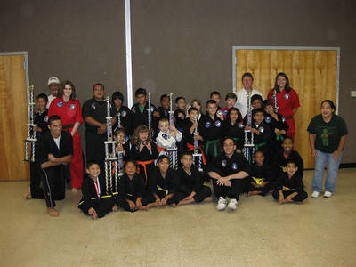 20090829 Ryan's second karate tournament