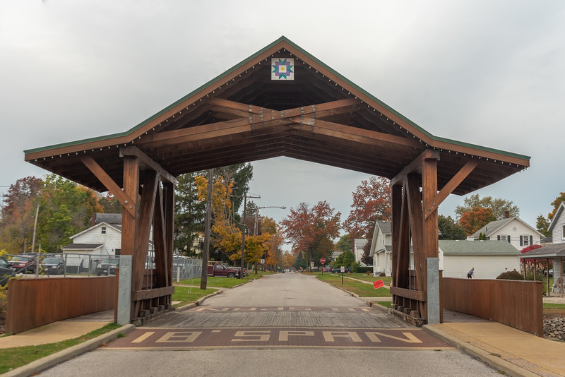 The West Liberty Covered Bridge
