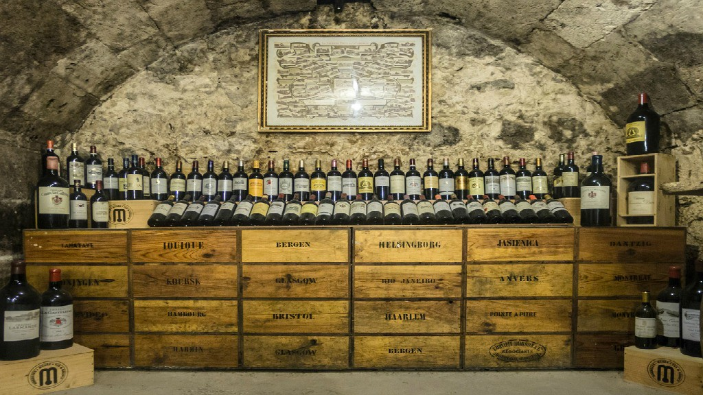 wine cellar in Spain