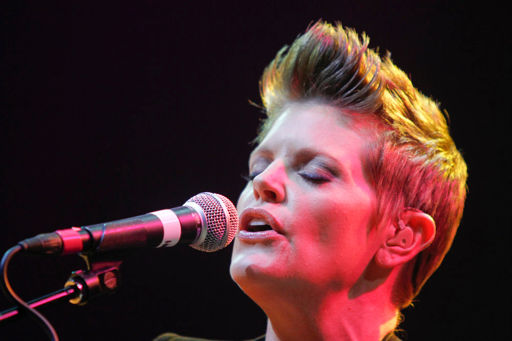 . Natalie Maines performs during the SXSW Music Festival, on Wednesday, March 13, 2013 in Austin, Texas. (Photo by Jack Plunkett/Invision/AP Images)