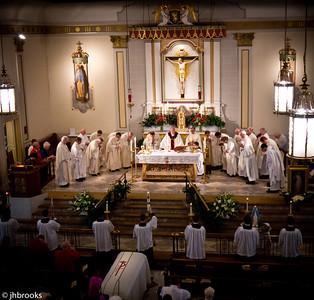 Monsignor Ansbro funeral
