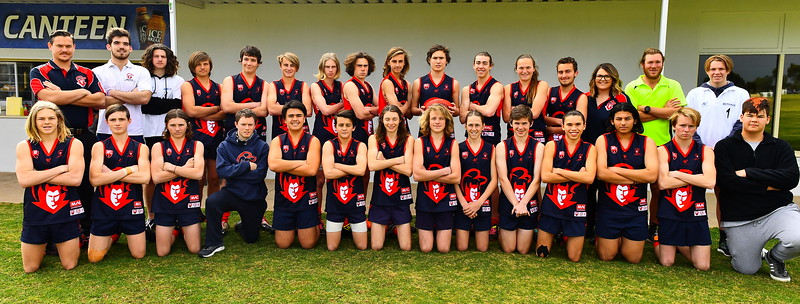 2017 U15 GRAND FINAL TEAMS RENMARK V BERRI
