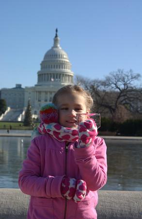 Abigail's Birthday 2009 - Washington D.C. Trip