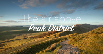 The air above: Peak District