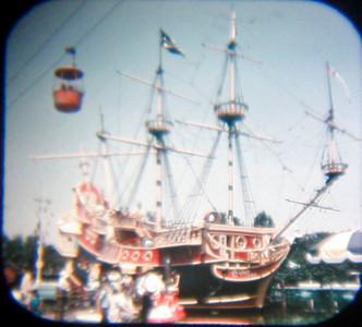 Disneyland Viewmaster 1950s versus 2009