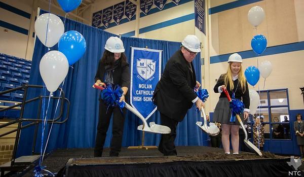 Nolan Catholic High School Groundbreaking