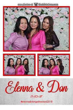 Elenna & Don Wedding - November 10, 2018