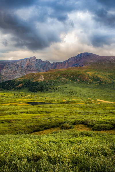 Mount Bierstadt and the Sawtooth